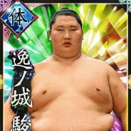 HINATA、『大相撲カード決戦』に「逸ノ城」が登場 カムバックキャンペーンも実施