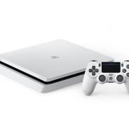 スリム化したPS4に新色「グレイシャー・ホワイト」が登場 国内での発売は2月23日より