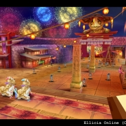 アソビモ、ダークファンタジーRPG『エリシアオンライン』で季節限定「夏祭りイベント」を開催。ミニゲームで万花銭を貯めて豪華景品ゲット
