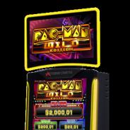 バンナム、同社初のカジノ向けゲーミング機器「PAC-MAN VIDEO SLOT WILD EDITION」を今夏より北米および南米地域で稼働へ