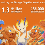 ゲームロフト、『ドラゴンマニア・レジェンド』で貧困との闘いを支援する「力を合わせよう」イベントに130万人超が参加! 目標額の3倍を超える18.6万ユーロをCAREに寄付