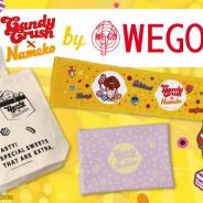 King、『キャンディークラッシュ』×WEGOコラボ第2弾を実施決定! 『なめこ栽培キット』シリーズで知られる人気キャラ「なめこ」も参加!