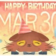 ココネ、『猫のニャッホ』が3月30日の誕生日を記念して「ニャッホ誕生日お祝いイベント」を開催