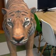 実物大の動物を現実に召喚 ViRD、HoloLensアプリ『ZOOO』をリリース