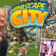 クルーズ、街作りシミュレーション『Miniscape City』iOS版をスウェーデンにて先行配信。今後は北米やヨーロッパ、日本を含める世界展開を予定