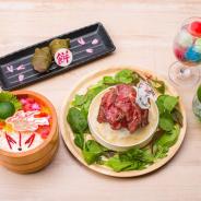 カプコン、カプコンカフェ 池袋店『大神』コラボの新メニューを公開! アマテラスがモチーフのちらし寿司など6種類が発表