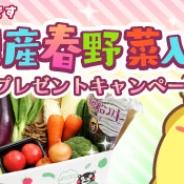SEモバイル&オンライン、『ハッピーベジフル』で「熊本県産春野菜入りセット」が当たるプレゼントキャンペーンを開催!