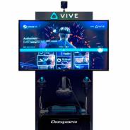 ドスパラ、デジカと協業しHTC VIVEを使った完全自動の『セルフVRステーション』の展開へ