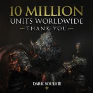 バンナムとフロム・ソフトウェア共同開発の『DARK SOULSⅢ(ダークソウルⅢ)』が世界販売本数1000万本を突破
