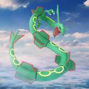 Nianticとポケモン、『ポケモンGO』で「レックウザ」が「伝説レイドバトル」に登場! 3月27日より