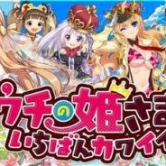 サイバーエージェント、弾丸アクションRPG『ウチの姫さまがいちばんカワイイ』が450万DL突破! 9大記念キャンペーンを実施