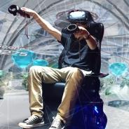 """どんどん大掛かりになるアキバのVR体験施設""""ドスパラ VRパラダイス"""" ついに『 BLAST×BLAST 』が登場…座席も動くぞ!!"""