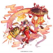 EXNOA、『神姫PROJECT A』で神姫「アトゥム」が正月衣装で再登場! 9日まで毎日無料10連ガチャを実施!