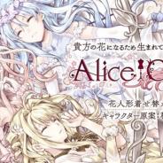 DMM GAMES、スマホ用アプリ&PCブラウザゲームの新プロジェクト『Alice Closet』を始動! キャラクター原案を人気漫画家の種村有菜先生が担当