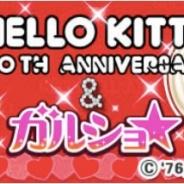 enish、『ガルショ☆』の4周年を記念し『ハローキティ』とのコラボを開始 『ハローキティ』をイメージしたデザインアバターが登場