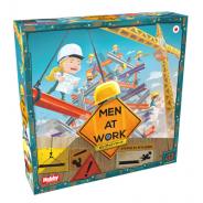 ホビージャパン、アイディアと手先の器用さが試される、見た目も楽しいビル建設バランスゲーム 「メン・アット・ワーク」日本語版を6月中旬に発売
