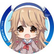 アニプレックス、『ハイスクール・フリート 艦隊バトルでピンチ!』公式サイトで「納沙 幸子」のTwitterアイコンとヘッダーの配布中!