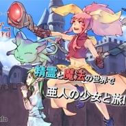 テクノクロノス、『ソネット・オブ・ウィザード』を「Mobage」で提供開始 2011年にガラケーで配信されたソーシャルゲームのスマホ版