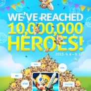 NHN Entertainment、『クルセイダークエスト』がグローバル累計1,000万DL突破 人気の勇者が入手できるイベントなど記念キャンペーンを開催