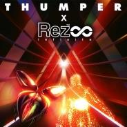 STEAMで『Rez Infinite』と『Thumper』のコラボキャンペーン開始 50%OFFで購入が可能に