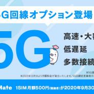 LogicLinks、MVNOサービス「LinksMate」で5G通信が利用可能となる「5G回線オプション」の提供を開始