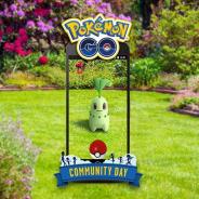 Nianticとポケモン、9月の「Pokémon GOコミュニティ・デイ」を9月22日12~15時に開催決定! 今回はくさタイプのポケモン「チコリータ」が大量発生!