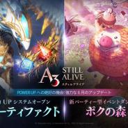 ネットマーブル、『A3: STILL ALIVE スティルアライブ』で新アーティファクトシステムを導入! 新ダンジョン「ポクの森」も登場