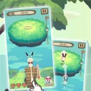 Cygames、アスレチック・アクションゲーム『ラビとび』の事前登録を実施中 iOS版、Android版とも2015年8月リリース予定