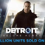 SIE、PS4向けタイトル『Detroit: Become Human』が世界累計実売200万本を突破…開発元クアンティック・ドリームとしても最速記録の約5ヶ月で