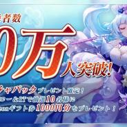 4399インターネット、アニメチック美少女MMORPG『天姫契約~ファイナルプリンセス~』の事前登録者数が20万人突破! Twitterでキャンペーン開催中