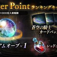 Cygames、『Shadowverse』で【24th Season】Master Pointランキングキャンペーンを6月28日より実施!
