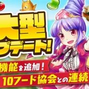 Nubee Tokyo、『モモ姫と秘密のレシピ』で日本全国10のフード・グルメ協会とコラボが決定 8月10日に大型アップデートも実施