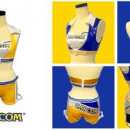 アクセルマーク、衣装製作サービス「coscrea」が「TGS2018」のCAPCOMブースでコンパニオンが着用する衣装のデザインと製作を担当
