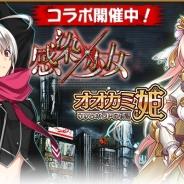 ヤマハミュージックエンタテインメント、『オオカミ姫 』にてKADOKAWAの『感染×少女』とのコラボレーションイベントを開催!