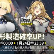 サンボーンジャパン、『ドールズフロントライン』で新人形の追加と確率UPイベントを22日より開催! 追加キャラは★5RF「VSK-94」