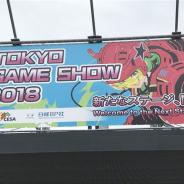 「東京ゲームショウ2018」が開幕! 出展社数、小間数ともに過去最大規模に