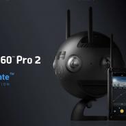ハコスコ、Arashi Visionの「Insta360 Pro 2」を発表 強力な手ブレ補正機能などが特徴