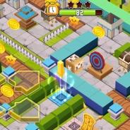 アドイノベーションとmediba、箱型キャラを転がして迷路をクリアするアクションゲーム『はこべんちゃー』をauスマートパスで配信開始