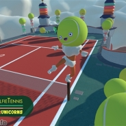 Devolver DigitalとVRUnicorn、HTC Vive用ゲーム『SelfieTennis』をリリース…ボールとラケットで人形たちを倒す一風変わったテニスゲーム