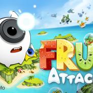 ネクストキューブ、音波でフルーツエイリアンを退治する『Fruit Attacks』をauスマートパスでサービス開始