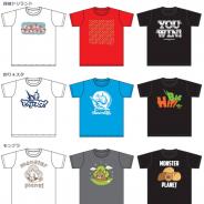 グリーの人気アプリ『探検ドリランド』『釣り★スタ』『モンプラ』『AvaMee』『踊り子クリノッペ』とイオンのコラボTシャツが発売開始!
