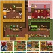ふりーむ、ゲーム・アプリ開発に便利な素材集『決定版マップ素材「ファンタジーRPG」』をボリュームアップして再リリース