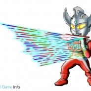 バンダイナムコゲームス、『ウルトラマン パズル魂』のレアガシャに「ウルトラマンタロウ」を追加 黄属性の出現率が大幅UPするキャンペーンも