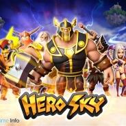 韓国Innospark、『ヒーロースカイ: エピック・ギルド・ウォーズ』を世界154ヵ国のApp Storeと134ヵ国のGoogle Playで配信開始