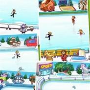 マジカルロッド、新作『フィギュアスケートあにまるず2』をリリース…可愛い動物が登場する本格フィギュアスケート育成ゲーム