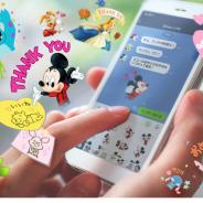 LINEとディズニー、月額サービス「Disney x LINE」の提供開始! 限定LINEスタンプや着せ替えがもらえる、LINE上でミッキーと友だちに