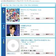 「ラブライブ!」μ'sの新曲『タカラモノズ/Paradise Live』がオリコンデイリー1位を獲得!『スクフェス』先行配信の書き下ろし曲