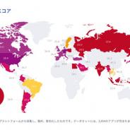 adjust、「モバイル成長マップ」レポートを公開 新指標「リテンションファクター」を初導入 国別成長スコアでは日本は下位