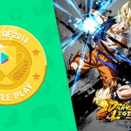 Google、『ドラゴンボールレジェンズ』を「ベスト ゲーム2018」に選出! 原作戦闘シーンの再現、簡単操作で遊べるゲーム性、リアルタイム対戦を評価