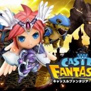 ゲームヴィルジャパン、リアルタイムストラテジーゲーム『キャッスルファンタジア』Android版の配信を開始